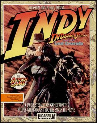 Indiana Jones And The Last Crusade - The Action Game