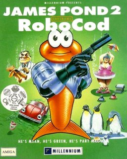 James Pond 2 - Codename RoboCod (AGA)