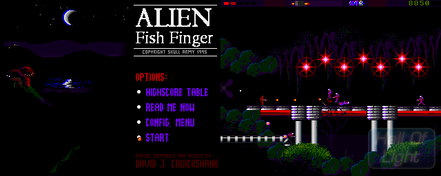 Alien Fish Finger