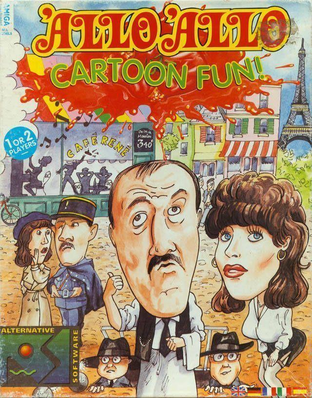 Allo Allo! Cartoon Fun! Disk1