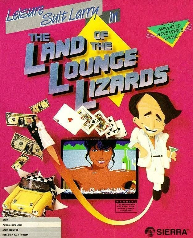 Leisure Suit Larry - In The Land Of The Lounge Lizards
