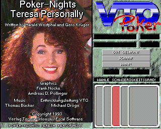 Poker Nights - Teresa Personally Disk1