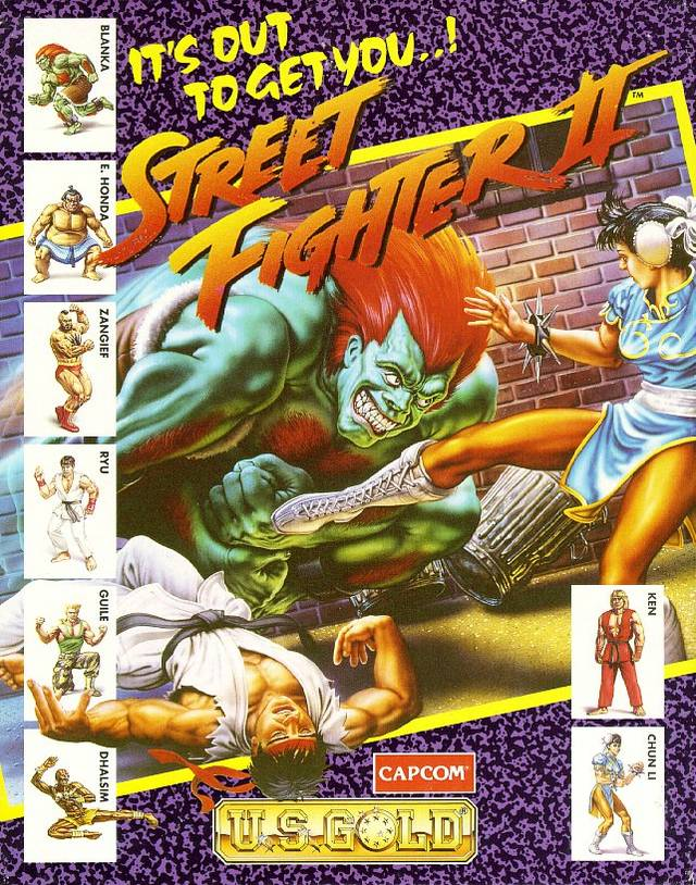 Street Fighter II - The World Warrior Disk1