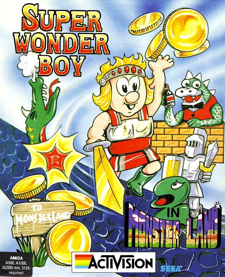 Super Wonderboy In Monsterland