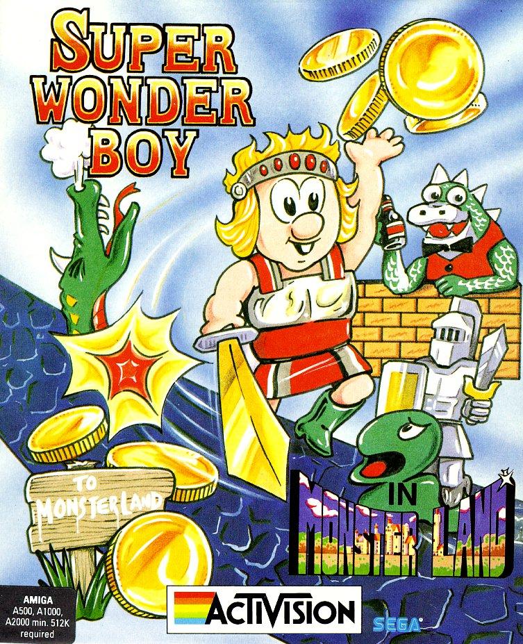 Super Wonderboy In Monsterland