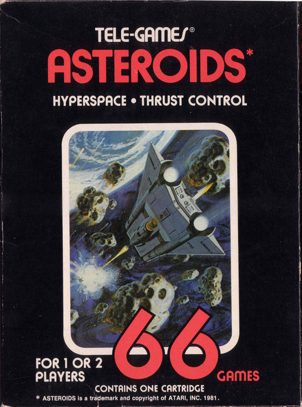 Asteroids (1979) (Atari)