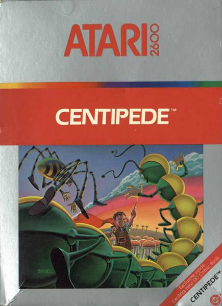 Centipede (1982) (Atari)