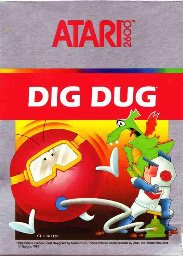 Dig Dug (1983) (Atari)
