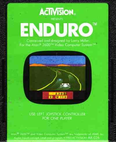 Enduro (1983) (Activision)