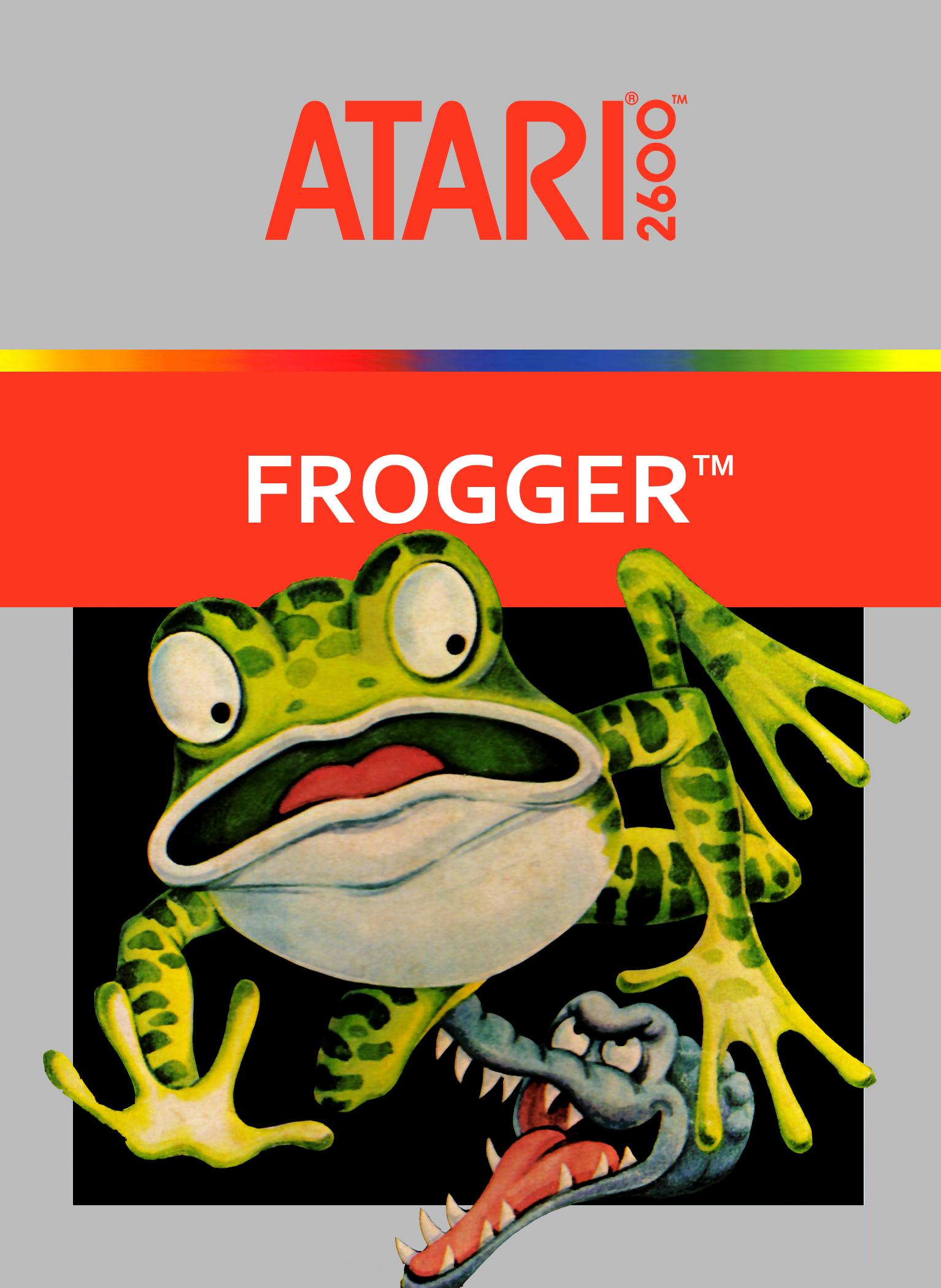 Frogger (1982) (Parker Bros)