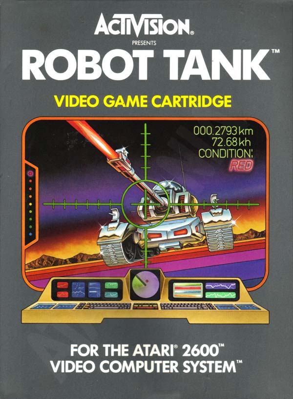 Robot Tank TV By Thomas Jentzsch (2 Joystick Hack)