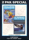 2 pak black - challenge, surfing (hes) (pal) rom