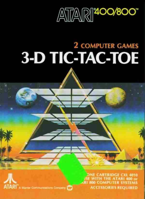 3-D Tic Tac Toe Adventure International