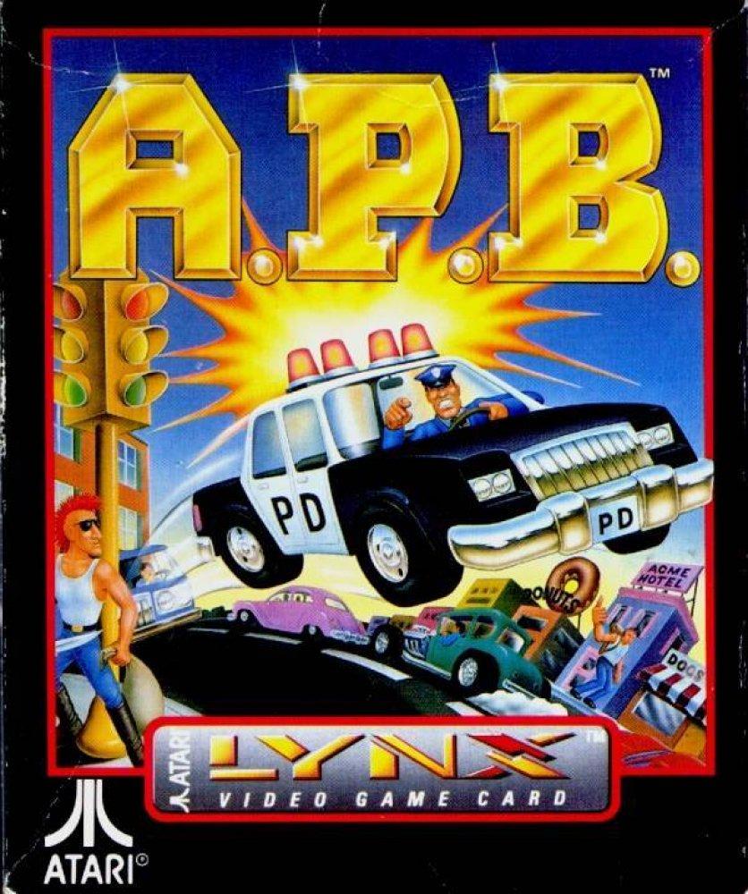 APB - All Points Bulletin (1990) ROM - Atari Lynx (Lynx