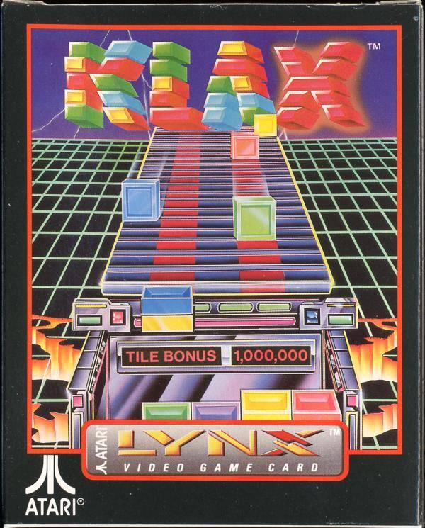 Klax (1990) ROM - Atari Lynx (Lynx) | Emulator Games