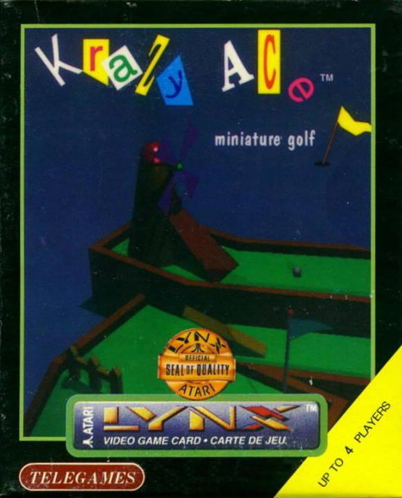 Krazy Ace Minature Golf (1997) (Telegames)