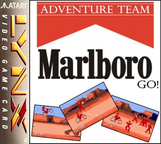 Marlboro Go! (1993) (Digital Image) ROM - Atari Lynx (Lynx