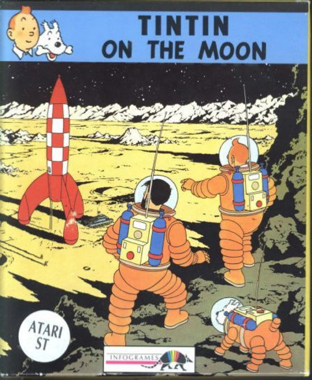 Tintin On The Moon (Europe) (En,Fr,De) ROM - Atari ST | Emulator Games
