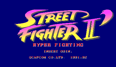 Street Fighter II': Hyper Fighting (World 921209) ROM - Capcom Play