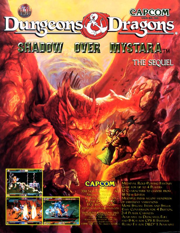 Dungeons & Dragons - Shadow Over Mystara (960619 Euro) ROM