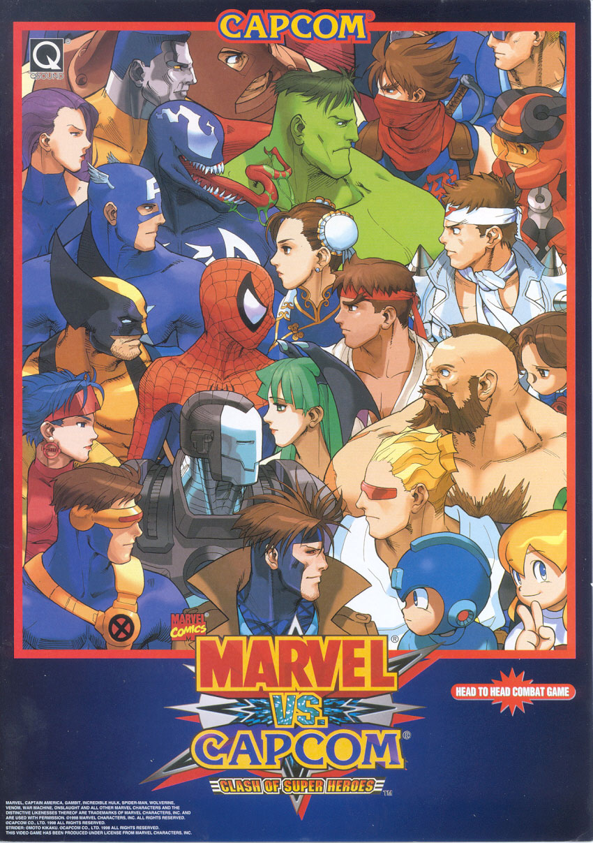Marvel Vs Capcom - Clash Of Super Heroes (980123 Euro)