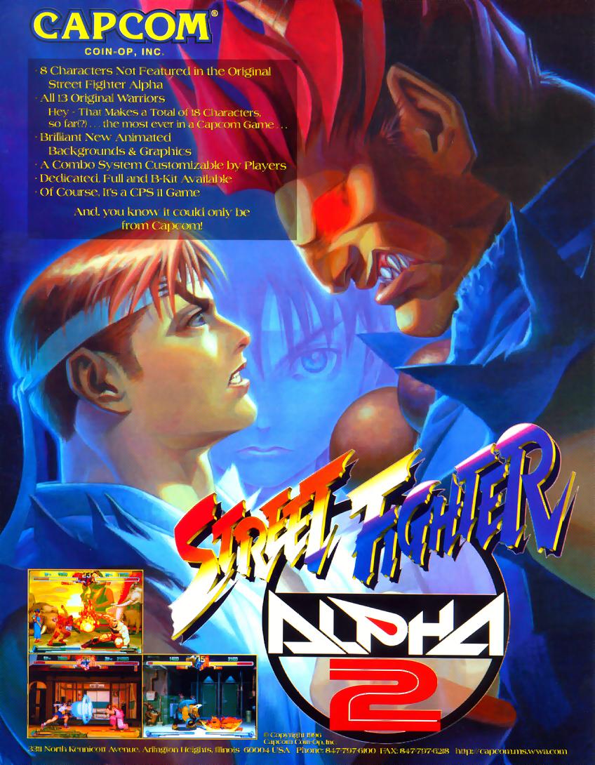 Street Fighter Alpha 2 (960430 USA) ROM - Capcom Play System