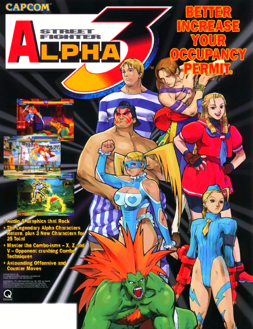 Street Fighter Alpha 3 (980904 USA)