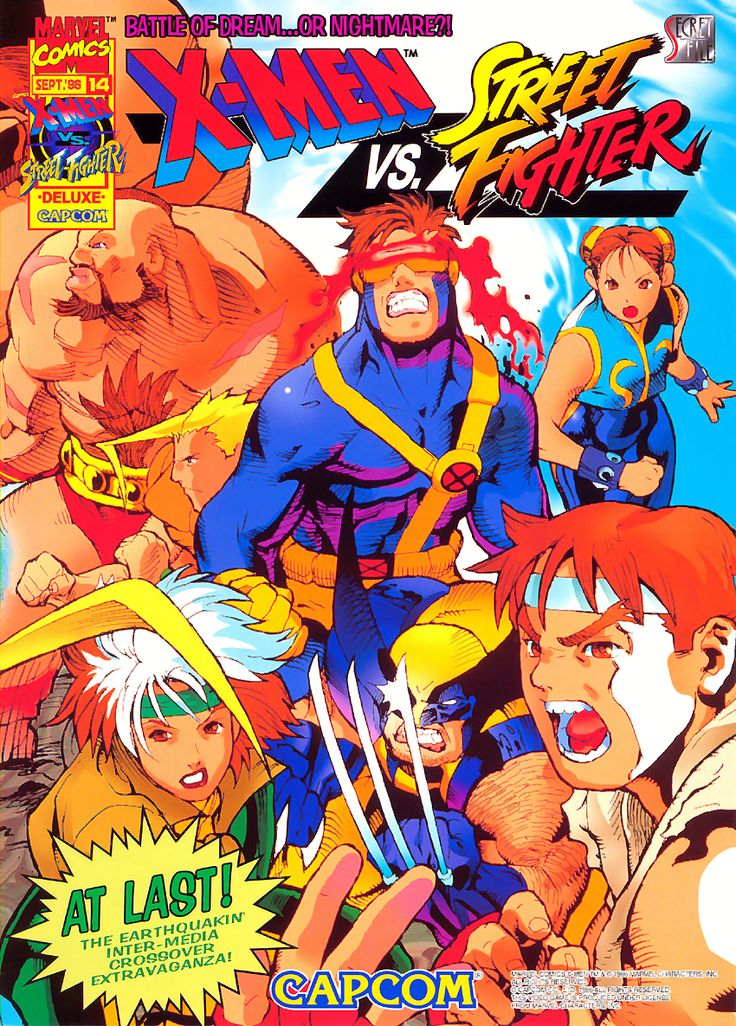 X-Men Vs Street Fighter (961004 Euro)