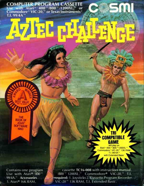 Aztec Challenge ROM - Commodore 64 (C64) | Emulator Games