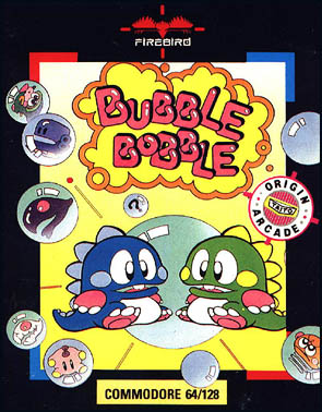 Bubble Bobble (Europe) ROM - Commodore 64 (C64) | Emulator Games