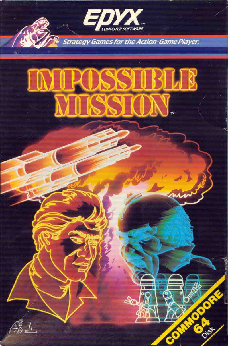 Impossible Mission (USA, Europe) ROM - Commodore 64 (C64