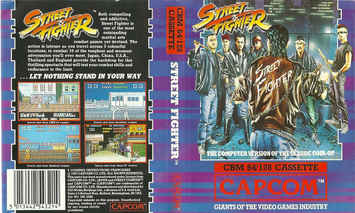 Street Fighter ROM - Commodore 64 (C64) | Emulator Games