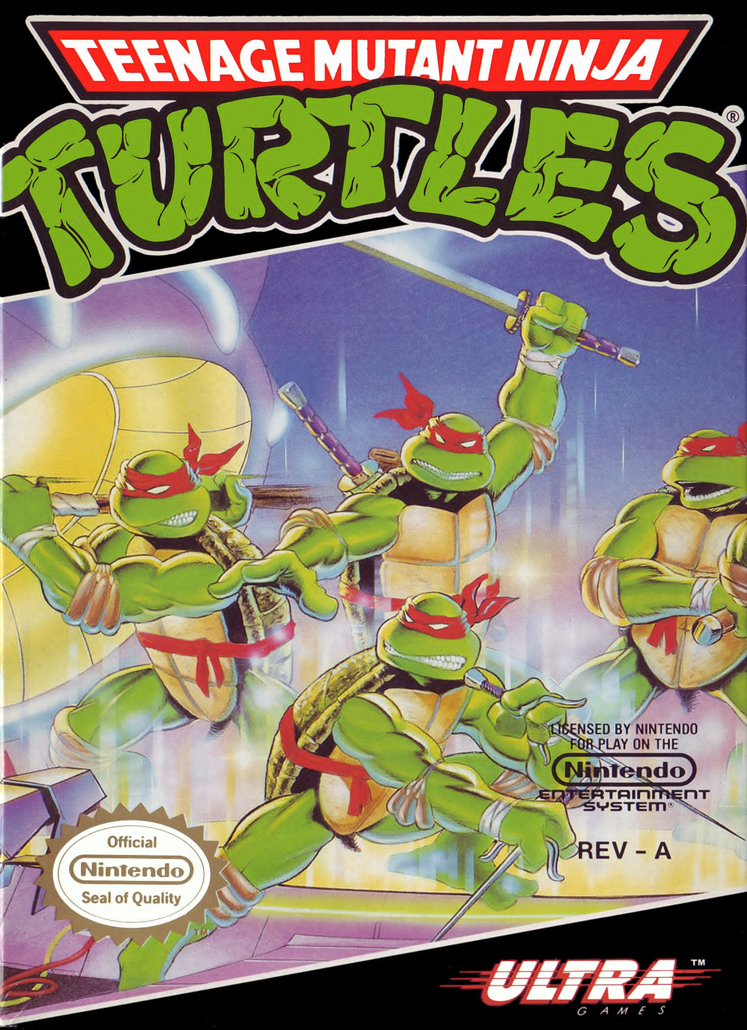 Teenage Mutant Ninja Turtles - The Arcade Game (Side 1)
