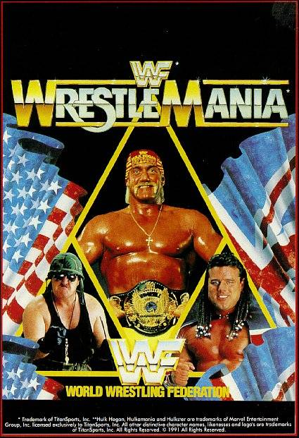 WWF WrestleMania (Europe) (Side 1)