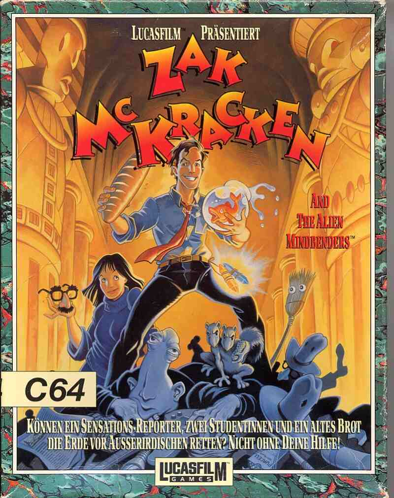 Zak McKracken And The Alien Mindbenders (Germany) (Side 2)