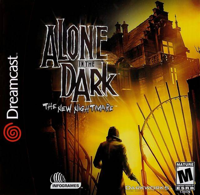Alone In The Dark The New Nightmare Disc 1 Rom Dreamcast