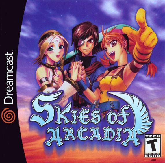 Skies Of Arcadia (Disc 1)