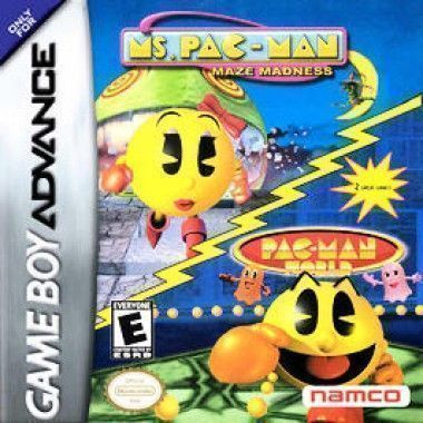 2 In 1 - Ms. Pac-Man - Maze Madness & Pac-Man World