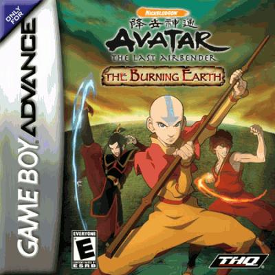 Avatar - The Last Airbender ROM - Gameboy Advance (GBA)   Emulator Games