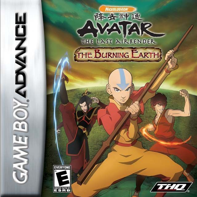 Avatar the legend of aang (e)(sir vg) rom < gba roms | emuparadise.