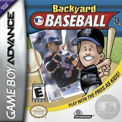 Backyard Baseball Rom Gameboy Advance Gba Emulator Games