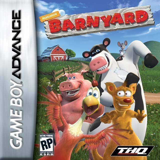 barnyard rom gameboy advance gba emulator games