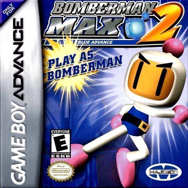 Bomber-Man Max 2 Blue