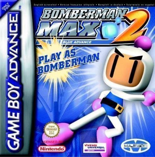 Bomberman Max 2 Blue (Megaroms)
