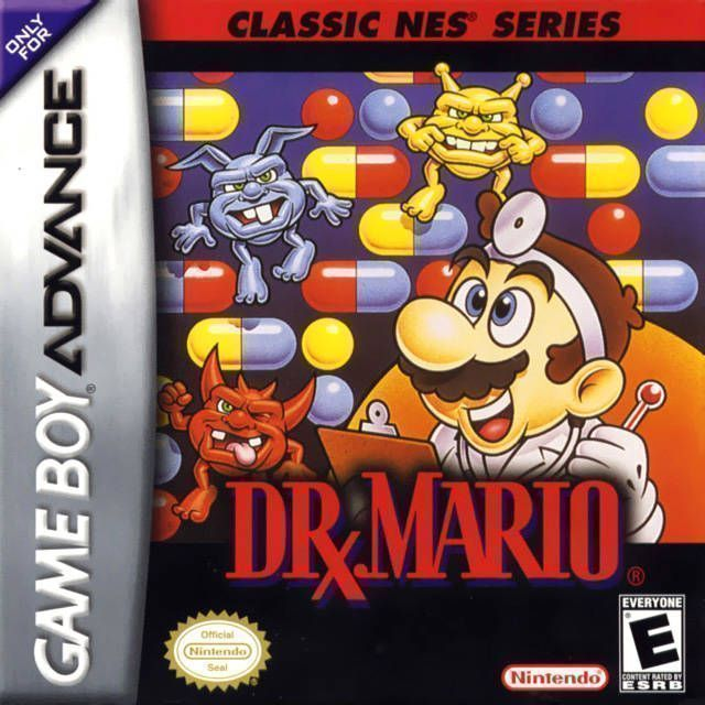 classic nes dr mario rom gameboy advance gba emulator games