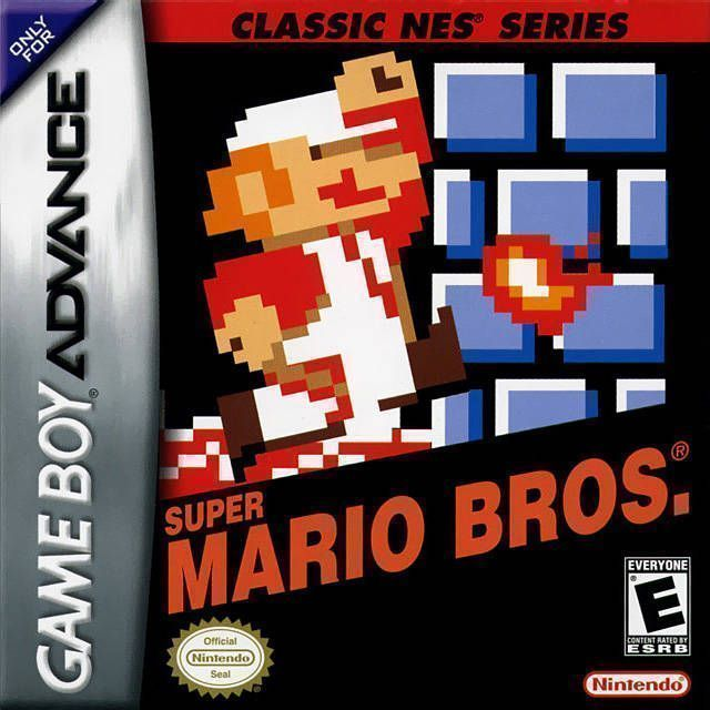 Classic NES - Super Mario Bros  ROM - Gameboy Advance (GBA