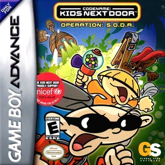 Codename - Kids Next Door - Operation S.O.D.A.