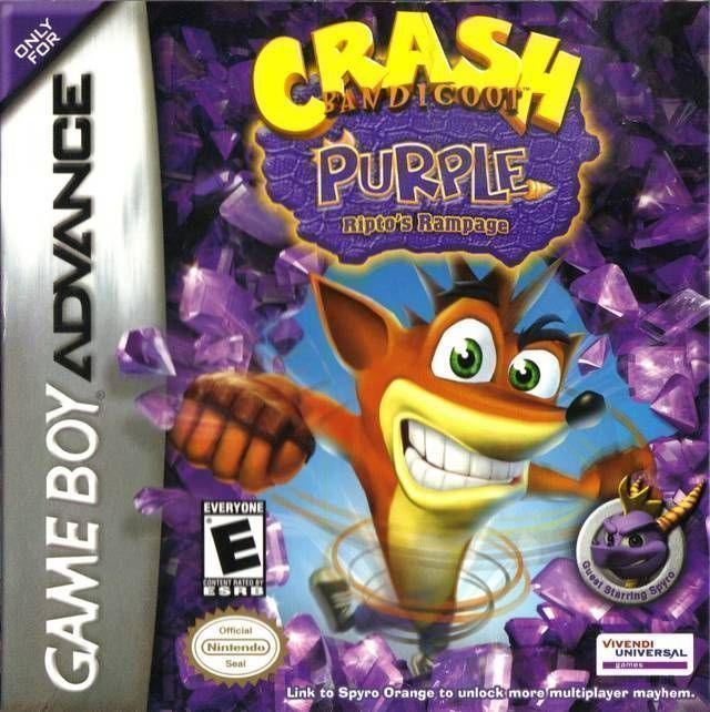 Crash Bandicoot - Purple Riptos Rampage