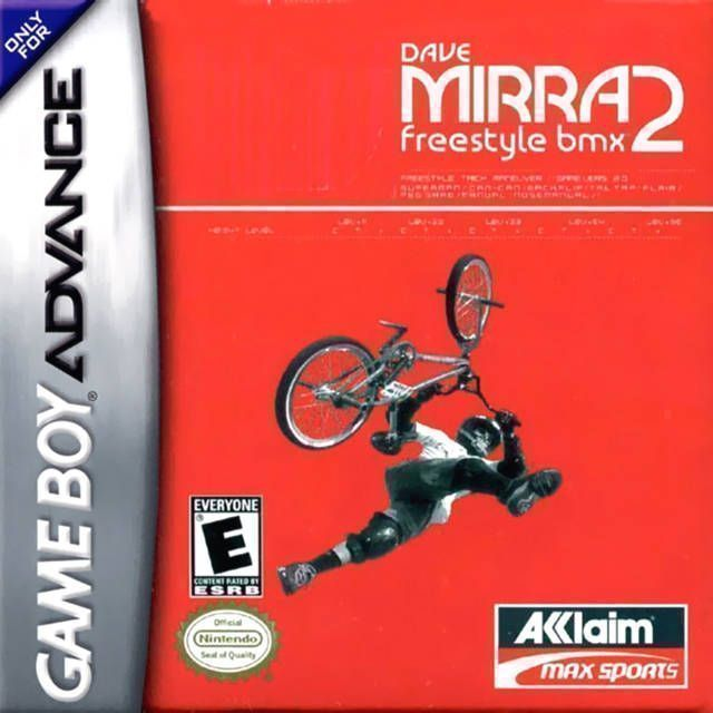 Dave Mirra - Freestyle BMX 2
