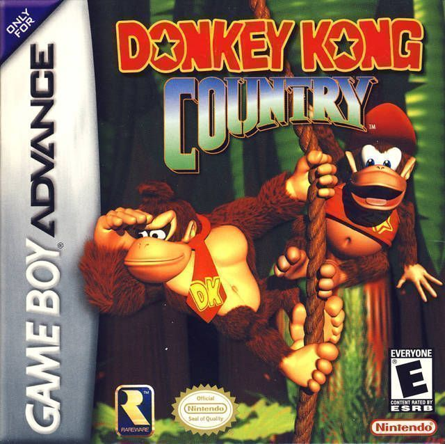 Donkey Kong Country ROM - Gameboy Advance (GBA) | Emulator Games